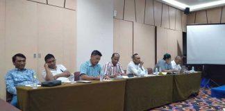 Nampak beberapa anggota DPRD Konkep saat menggelar RDP bersama pihak PT GKP