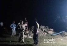 Proses Pencarian Nelayan Yang Hilang Di Sungai Lapada Desa Padalere Induk Kecamatan. Wiwirano Kabupaten Konawe Utara