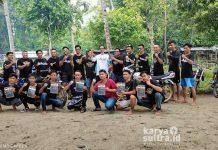 Touring wisata di Pantai Kampa club' RX King